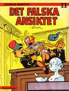 Cover for Spirous äventyr (Carlsen/if [SE], 1974 series) #11 - Det falska ansiktet [2:a upplagan, 1986]