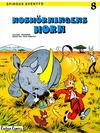 Cover for Spirous äventyr (Carlsen/if [SE], 1974 series) #8 - Noshörningens horn [2:a upplagan, 1984]