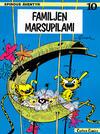 Cover for Spirous äventyr (Carlsen/if [SE], 1974 series) #10 - Familjen Marsupilami [3:e upplagan, 1984]
