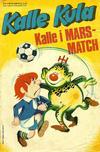 Cover for Kalle Kula (Semic, 1973 series) #4/1974