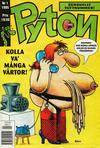 Cover for Pyton (Atlantic Förlags AB, 1990 series) #1/1995
