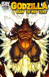 Cover Thumbnail for Godzilla: Kingdom of Monsters (2011 series) #12 [Matt Frank retailer incentive]