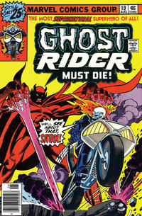 Cover Thumbnail for Ghost Rider (Marvel, 1973 series) #19 [25¢ Cover Price]