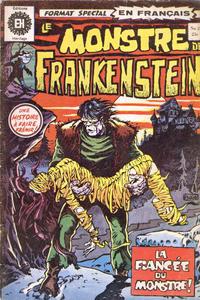 Cover Thumbnail for Le Monstre de Frankenstein (Editions Héritage, 1973 series) #2