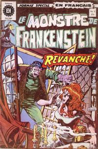 Cover Thumbnail for Le Monstre de Frankenstein (Editions Héritage, 1973 series) #3