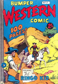 Cover Thumbnail for Bumper Western Comic (K. G. Murray, 1959 series) #7