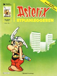 Cover Thumbnail for Asterix (Hjemmet / Egmont, 1969 series) #17 - Byplanleggeren [4. opplag]