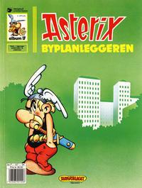 Cover Thumbnail for Asterix (Hjemmet / Egmont, 1969 series) #17 - Byplanleggeren [5. opplag]