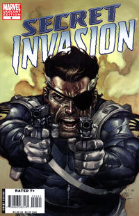 Cover for Secret Invasion (Marvel, 2008 series) #4 [Steve McNiven Limited Sketch Cover]