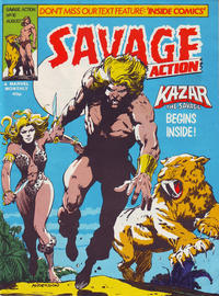Cover Thumbnail for Savage Action (Marvel UK, 1980 series) #10