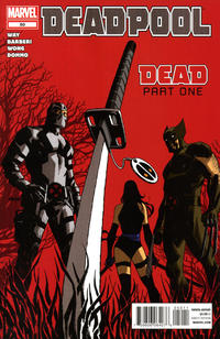Cover for Deadpool (Marvel, 2008 series) #50 [Bradshaw variant]