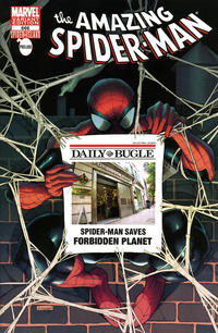 Cover Thumbnail for The Amazing Spider-Man (Marvel, 1999 series) #666 [Forbidden Planet Exclusive Store Variant]