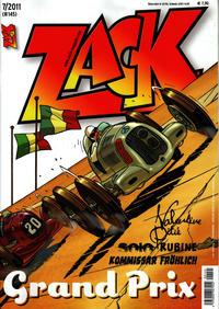 Cover Thumbnail for Zack (Mosaik Steinchen für Steinchen Verlag, 1999 series) #7/2011 (#145)