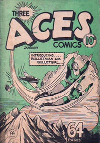 Cover Thumbnail for Three Aces Comics (Anglo-American Publishing Company Limited, 1941 series) #v1#12