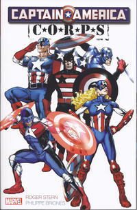 Cover Thumbnail for Captain America Corps (Marvel, 2011 series)