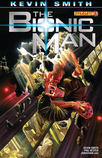 Cover Thumbnail for Bionic Man (Dynamite Entertainment, 2011 series) #6 [Cover A (Main) Alex Ross]