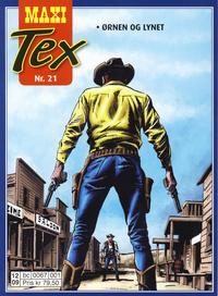 Cover Thumbnail for Maxi Tex (Hjemmet / Egmont, 2008 series) #21