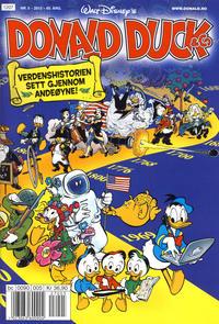 Cover for Donald Duck & Co (Hjemmet / Egmont, 1948 series) #5/2012