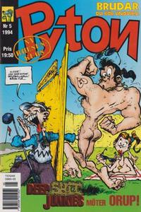 Cover Thumbnail for Pyton (Atlantic Förlags AB, 1990 series) #5/1994