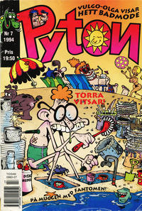 Cover Thumbnail for Pyton (Atlantic Förlags AB, 1990 series) #7/1994