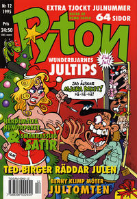 Cover Thumbnail for Pyton (Atlantic Förlags AB, 1990 series) #12/1995
