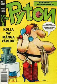 Cover Thumbnail for Pyton (Atlantic Förlags AB, 1990 series) #1/1995