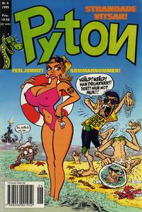 Cover Thumbnail for Pyton (Atlantic Förlags AB, 1990 series) #6/1995