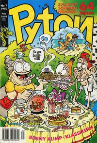 Cover Thumbnail for Pyton (Atlantic Förlags AB, 1990 series) #7/1995