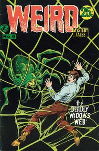 Cover Thumbnail for Weird Mystery Tales (K. G. Murray, 1972 series) #5
