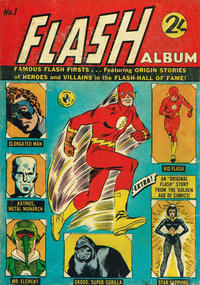 Cover Thumbnail for Flash Album (K. G. Murray, 1965 series) #1