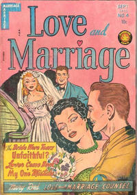 Cover Thumbnail for Love and Marriage (Superior, 1952 series) #4