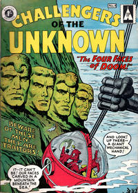 Cover Thumbnail for Challengers of the Unknown (Thorpe & Porter, 1960 series) #4