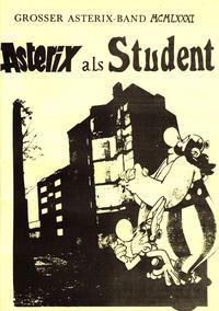 Cover for Asterix als Student (Unbekannter Verlag, 1984 series)