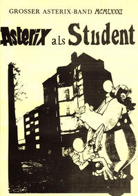 Cover Thumbnail for Asterix als Student (Unbekannter Verlag, 1984 series)