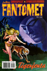 Cover Thumbnail for Fantomet (Hjemmet / Egmont, 1998 series) #1/2000