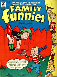Cover Thumbnail for Family Funnies (Associated Newspapers, 1953 series) #52