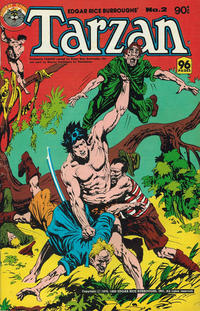 Cover Thumbnail for Edgar Rice Burroughs' Tarzan (K. G. Murray, 1980 series) #2