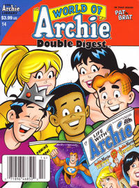 Cover Thumbnail for World of Archie Double Digest (Archie, 2010 series) #14 [Newsstand]