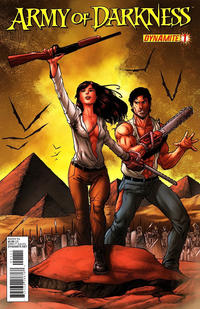 Cover Thumbnail for Army of Darkness (Dynamite Entertainment, 2012 series) #1