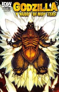 Cover for Godzilla: Kingdom of Monsters (IDW, 2011 series) #12 [David Messina regular]