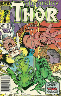 Cover Thumbnail for Thor (Marvel, 1966 series) #364 [Newsstand]