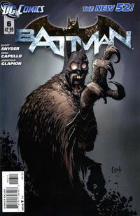 Cover Thumbnail for Batman (DC, 2011 series) #6