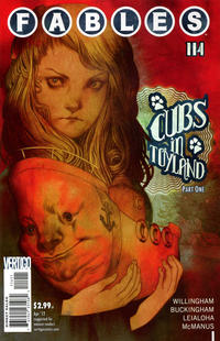 Cover for Fables (DC, 2002 series) #114