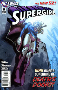 Cover Thumbnail for Supergirl (DC, 2011 series) #6 [Direct Sales]