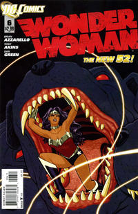 Cover Thumbnail for Wonder Woman (DC, 2011 series) #6