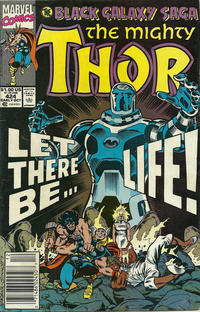 Cover Thumbnail for Thor (Marvel, 1966 series) #424 [Newsstand]