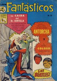 Cover Thumbnail for Los 4 Fantásticos (Editora de Periódicos La Prensa S.C.L., 1962 series) #60