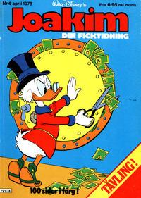 Cover Thumbnail for Joakim [Farbror Joakim] (Hemmets Journal, 1976 series) #4/1978