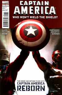 Cover Thumbnail for Captain America: Who Won't Wield the Shield? (Marvel, 2010 series) #1