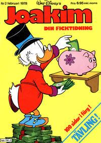Cover Thumbnail for Joakim [Farbror Joakim] (Hemmets Journal, 1976 series) #2/1978